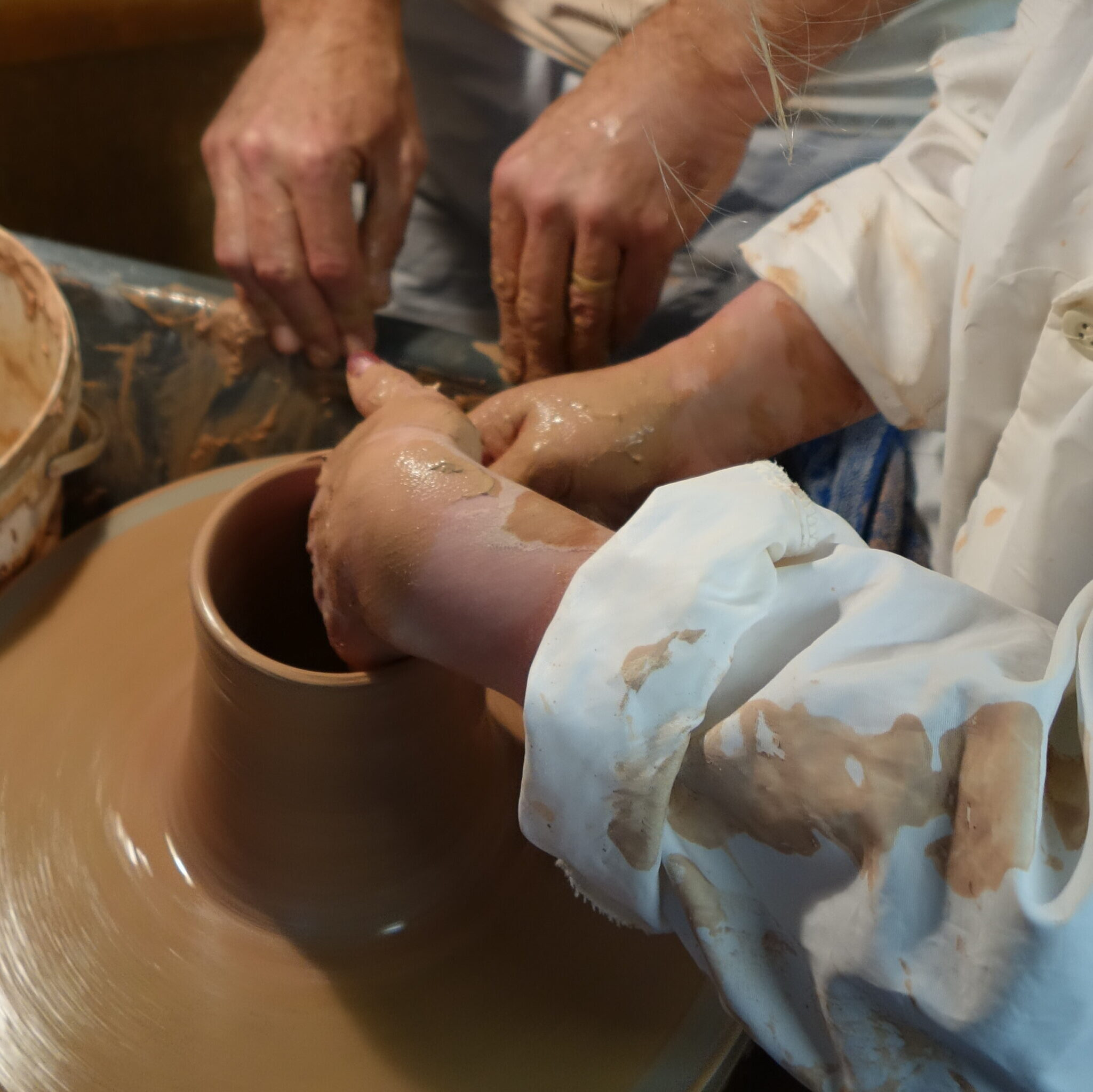 Pottery Lessons with Trevor Dyer Ceramics